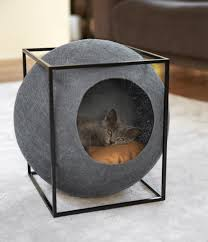 20 cool cat beds for your furry friend cat gray and pet furniture