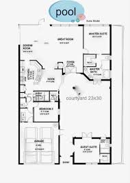 House Plans With Courtyard by No Minimalist Here Our Courtyard Tour U0026 Floor Plan