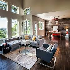 Gray Sofa In Living Room Stylish Charming And Natural Country Decor In Modern Living Rooms