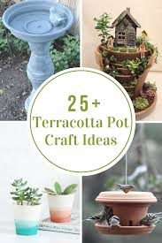 terracotta pot craft ideas the idea room