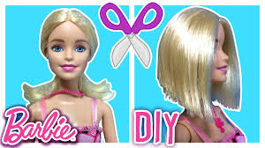 diy u2013 how to cut barbie doll hair u2013 barbie hair cut u2013 barbie