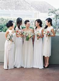 matching wedding dresses 35 ideas for mix and match bridesmaid dresses