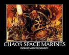 chaos space marines quotes