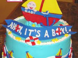 ahoy it u0027s a boy baby shower cakecentral com
