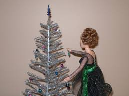 playscale 1 6 or 1 4 scale silver aluminum tree