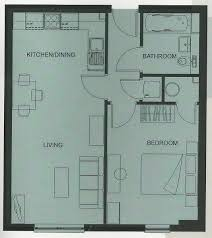 Train Station Floor Plan by Luxury One Bed Apartment In New Central Woking Close To Train
