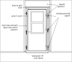 Frame Exterior Door How To Replace Front Door Frame Impressive Design Ct News Feed