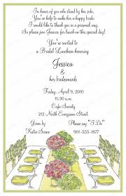 bridesmaids luncheon invitation wording colors 60th birthday luncheon invitation wording together with