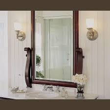 One Light Wall Sconce Carlton Wall Sconces Lighting This Traditional Bathroom Brass