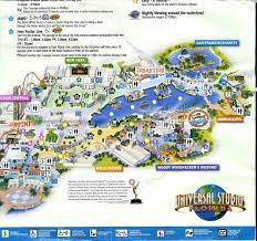 Florida Map Orlando by Universal Studios Orlando Florida Map