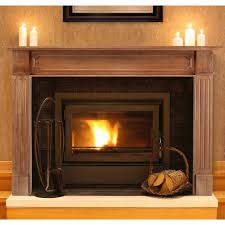 pearl mantels monticello wood fireplace mantel surround hayneedle