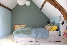 des murs de couleur dans une chambre mariekke