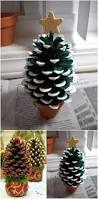Cone Tree The 25 Best Pine Cone Christmas Tree Ideas On Pinterest Holiday