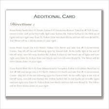 Wedding Invitations Information Enclosure Cards