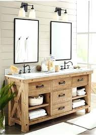 best rustic bathroom vanities ideas on woodrustic vanity mirror to