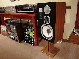 B W Bookshelf Speakers For Sale Vintage 70 U0027s Stereo System