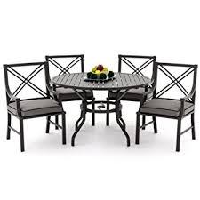 Lakeview Patio Furniture by Amazon Com Lakeview Outdoor Designs Audubon 4 Person Aluminum