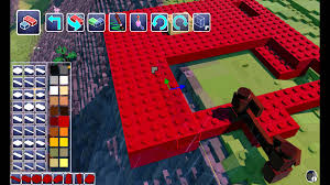 lego worlds e02 building a house driving cars new open world
