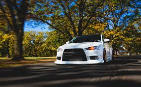 mitsubishi white wallpapers mitsubishi lancer evo x white motion auto front