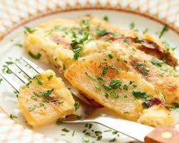 cuisiner navets nouveaux recette navets gratinés au parmesan