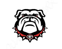 Georgia Bulldog Rugs Georgia Bulldogs Svg Etsy