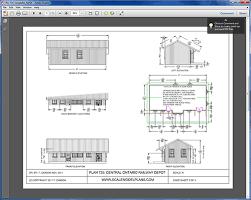floor plan scales free printable ho scale buildings plans lzk gallery vasut