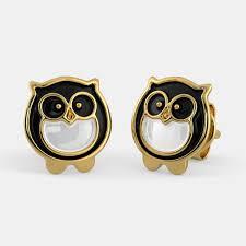owl earrings the owl earrings for kids bluestone