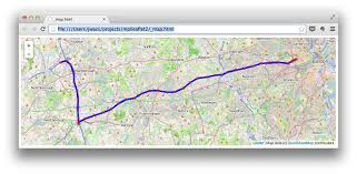 Python Map Example Mplleaflet By Jwass