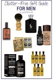 clutter free gift ideas for men joyful abode