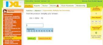 multiplying polynomials strickler wms 8th grade math