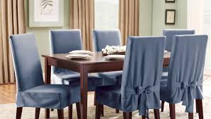 Blue And White Striped Slipcovers Dining Room Gratify Baby Blue Dining Room Chairs Intrigue