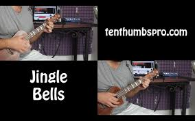 jingle bells christmas song ukulele tutorial w melody and tabs