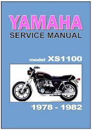yamaha workshop manual xs1100 u0026 venturer 1978 1979 1980 1981 1982