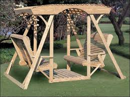 Wooden Glider Swing Plans by Covered Benches Porch Glider Swing Plans Wooden Porch Glider