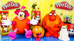 play doh pumpkin how to decorate pumpkins spiderman minnie mouse