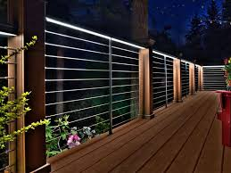 Ideas For Deck Handrail Designs Feeney Led Lighting For Designrail Feeney U0027s Custom Designed Led