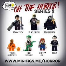 halloween treat horror icons get lego treatment robbie u0027s rules