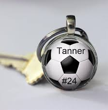 childs name necklace custom soccer pendant custom soccer necklace your child s