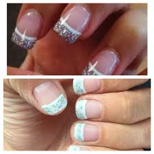 top pinterest pink u0026 white w glitter bottom my acrylic nails