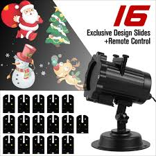 outdoor projectors light with 16