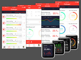 fitness app with apple watch compatibility sketch freebie
