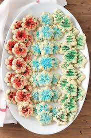 classic spritz cookies a kitchen addiction