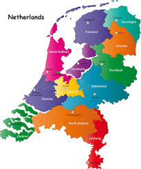 netherlands map netherlands map stock vector illustration of country 6299734