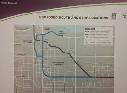 Light Rail Phoenix Map by Metro Gives Tempe Streetcar Update Rail Life