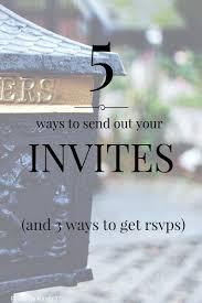 5 ways to send your wedding invites minneapolis wedding planner