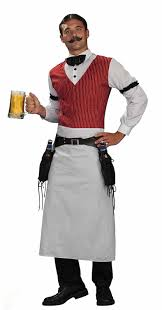 amazon com forum western bartender deluxe costume clothing