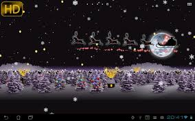 christmas live wallpaper santa android apps on google play