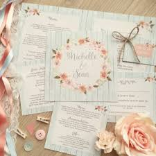 wedding stationery rustic vintage country wedding stationery invitations