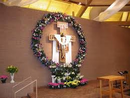 Easter Decorating Ideas For Bulletin Boards by Easter Church Decoration Ideas Sunday Bulletin Board
