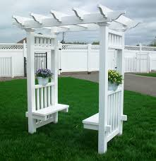 vinyl arbor and gazebo 3 woodworking plans pinterest deck